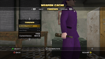 Saints Row Weapon Cache - Thrown - Molotov Cocktail at rest