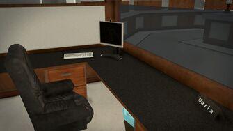 Stilwater Savings & Loan - interior desk
