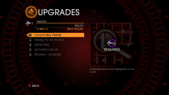 Upgrades in Saints Row Gat out of Hell - abilities