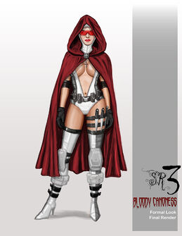Bloody Cannoness Concept Art - Formal look