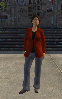 BusinessWoman-01 - HighEndHairSalon - character model in Saints Row