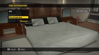 Downtown Loft - Crib Customization - Bed - Pimp Double Bed