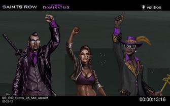 Escape the Dominatrix - Donnie, Shaundi, and Zimos concept art