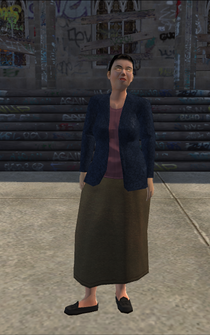 MiddleAge female 01 - Asian - character model in Saints Row