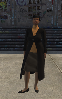 MiddleAge female 02 - black - character model in Saints Row