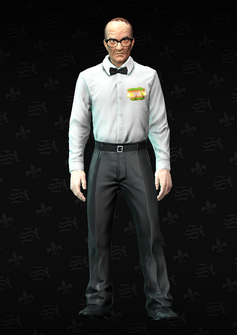 Referee - Alfred2 - character model in Saints Row The Third