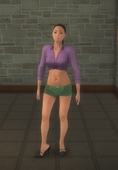 Stripper female - asian generic - character model in Saints Row 2