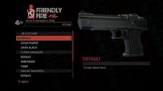 Weapon - Pistols - Heavy Pistol - .45 Fletcher - Default