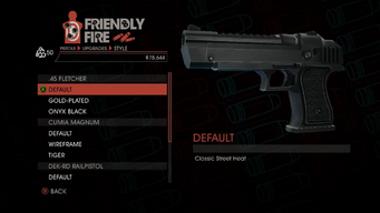 Weapon - Pistols - Heavy Pistol - .45 Fletcher - Default