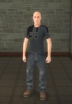 Broken NPC 2 - character model in Saints Row 2