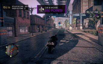 Cat and Mouse in Saints Row IV - 250 Points