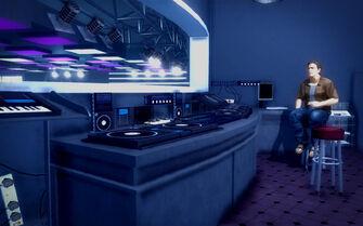 Club Koi - DJ booth