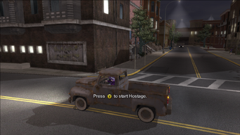 Hostage prompt in Saints Row