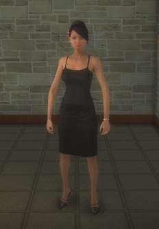 Luz - character model in Saints Row 2