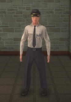 Pilot - white shirt Captain - character model in Saints Row 2