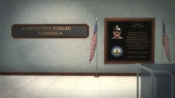 Police Headquarters - Chief plaque