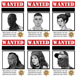 Police Headquarters - Wanted Poster textures
