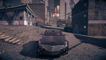 Sovereign - front in Saints Row IV