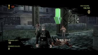 Zombie Uprising - Survivor down