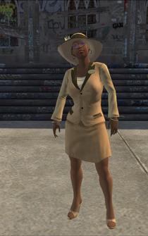 Aisha - Disguise - character model in Saints Row