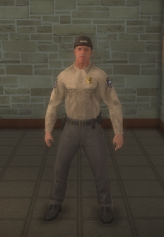 Cop - prison white male - character model in Saints Row 2