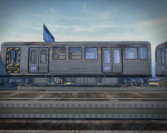 El Train - operator carriage left side