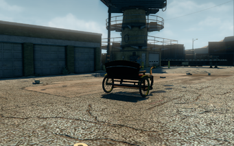 Pony Cart - rear right in Saints Row The Third