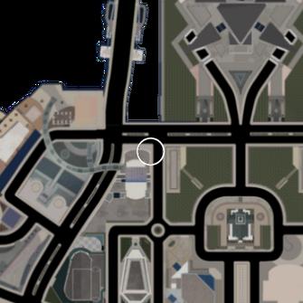 Saints Row Loft location on Saints Row 2 map