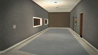Stilwater Savings & Loan - interior upstairs corridor