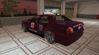 Saints Row variants - Taxi - TNA B - rear left