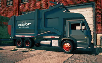 Steelport Municipal - front right in Saints Row IV