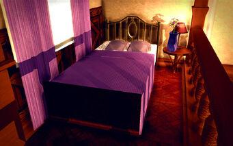 University Loft - Ultra Modern - bed