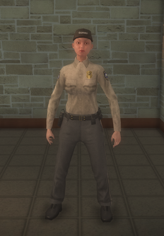 Cop - prison white female - character model in Saints Row 2