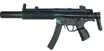 Heavy SMG - Heckler and Koch MP5 SD3 in real life