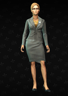 Monica Hughes - character model in Saints Row The Third
