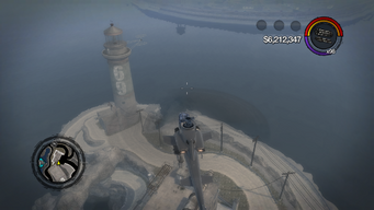 Prison Lighthouse - aerial view