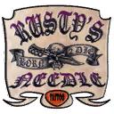 Rusty's needle i15 logo pl