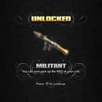 Saints Row unlockable - Weapons - Militant - RPG