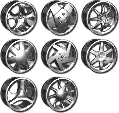 Vehicle Customization - Sports 1 Rims in Saints Row 2