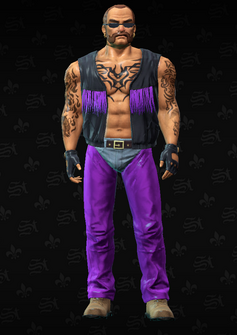 Gang Customization - Biker 2 - Arthur - in Saints Row The Third