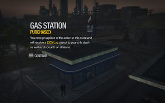 Gas Station in Copperton purchased in Saints Row 2