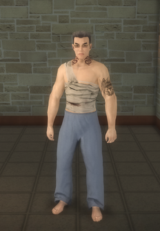 Johnny Gat - Bandage Gat - character model in Saints Row 2