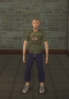 Junky - asian male - character model in Saints Row 2