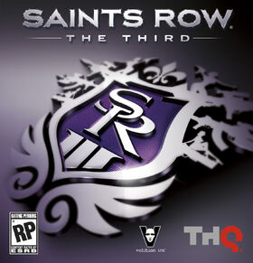Saints Row The Third cover art