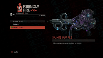 Weapon - Rifles - Bounce Rifle - Bounce Rifle - Saints Purple