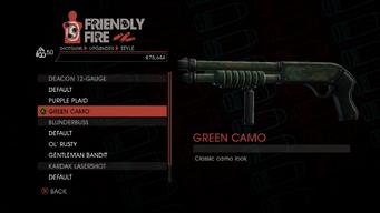 Weapon - Shotguns - Pump-Action Shotgun - Deacon 12-Gauge - Green Camo