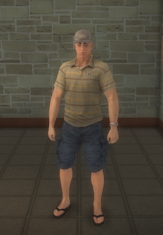 Blake - character model in Saints Row 2