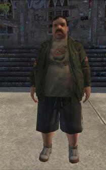 Fatman - jacket - character model in Saints Row
