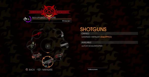 GOOH halloween livestream - Weapons - Shotguns - Ultor Soulsweeper