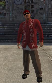 Los Carnales male Killa1-01 - HispanicLongShirts - character model in Saints Row